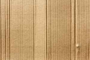 brown cardboard close up corrugated